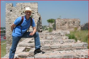 Here am I -Atop the Theodosian Walls