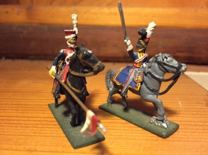 Polish Lancer and Officer of 'The Blues'